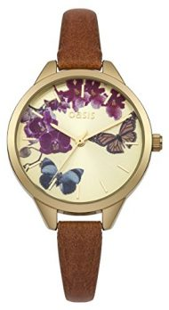 Oasis Uhr | Armbanduhr Oasis | Damenuhr Oasis | damenuhr mit schmetterlingmotiv