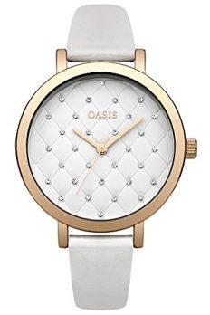 weiße armbanduhr | damenuhrweiß | Oasis Uhr | Armbanduhr Oasis | Damenuhr Oasis