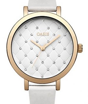 weiße armbanduhr   damenuhrweiß   Oasis Uhr   Armbanduhr Oasis   Damenuhr Oasis
