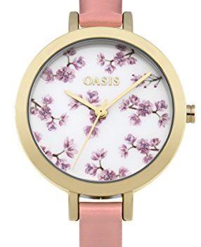 Oasis Uhr   Armbanduhr Oasis   Damenuhr Oasis   damenuhr mit weißem ziffernblatt