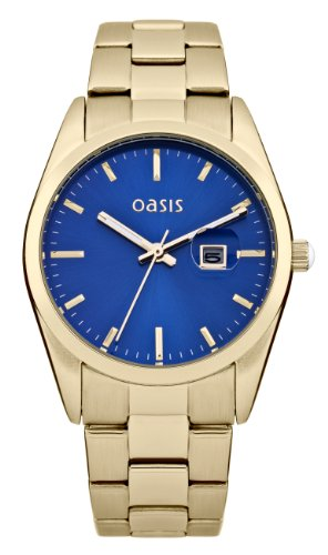 Oasis Uhr   Armbanduhr Oasis   Damenuhr Oasis   Armbanduhr mit blauem Ziffernblatt