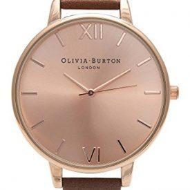 Olivia Burton Uhr | Armbanduhr Olivia Burton | Damenuhr Olivia Burton | Rose-braune Armbanduhr | Rosefarbige damen armbanduhr