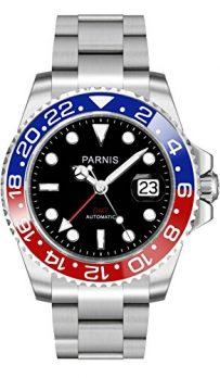 Parnis Uhren | Armbanduhr Parnis | Herrenuhr Parnis | Automatikuhr herren mit Datumanzeige