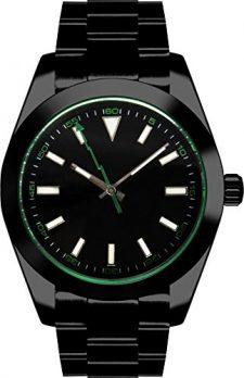 Parnis Uhren | Armbanduhr Parnis | Herrenuhr Parnis | Automatikuhr herren schwarz