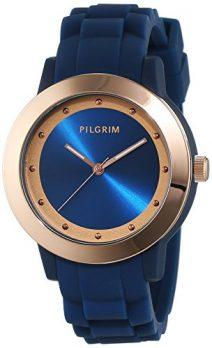 Pilgrim Uhr | Armbanduhr Pilgrim | Damenuhr Pilgrim | dunkelblaue armbanduhr | damenuhr dunkelblau | armbanduhr dunkelblau mit silikonband | armbanduhr mit dunkelblauem silikonband
