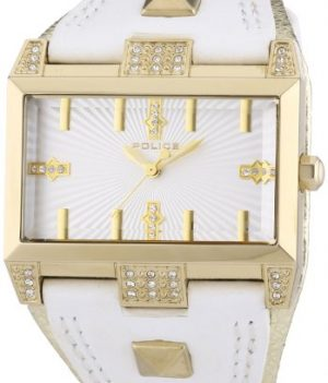 Police Uhr | Armbanduhr Police | Damenuhr Police | Weiße Leder Armbanduhr | Damen Armbanduhr weiß