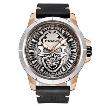 Police Uhr | Armbanduhr Police | Herrenuhr Police | Armbadnuhr mit Kopmotiv