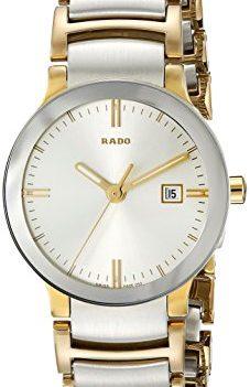 Rado Uhr   Armbanduhr Rado   Damenuhr Rado   2-farbige Edelstahl Armbanduhr