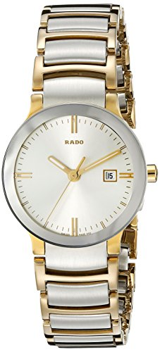Rado Uhr | Armbanduhr Rado | Damenuhr Rado | 2-farbige Edelstahl Armbanduhr