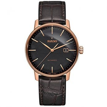 Rado Uhr | Armbanduhr Rado  | Herrenuhr Rado  |  dunkelbraun leder armbanduhr | herren armbanduhr leder braun | leder automatik armbanduhr