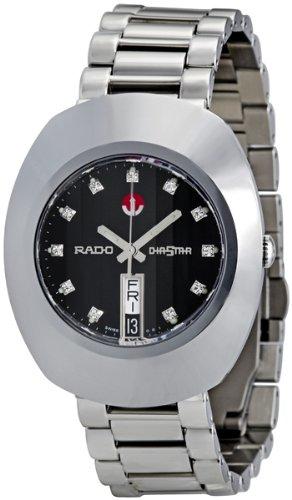 Rado Herren Diamanten 43mm Silber Edelstahl Armband Gehause Uhr