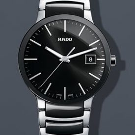 Rado Uhr | Armbanduhr Rado | Herrenuhr Rado | schwarze edelstahl armbanduhr | herren armbanduhr schwarz edelstahl