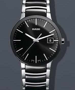 Rado Uhr   Armbanduhr Rado   Herrenuhr Rado   schwarze edelstahl armbanduhr   herren armbanduhr schwarz edelstahl