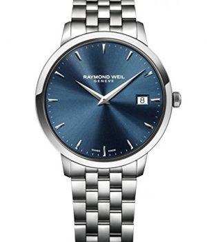 Raymond Weil Uhr | Armbanduhr Raymond Weil | Herrenuhr Raymond Weil | Herrenuhr mit blauem Ziffernblatt