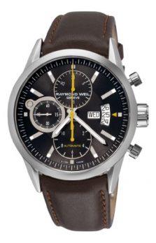 Raymond Weil Uhr | Armbanduhr Raymond Weil | Lederarmbanduhr