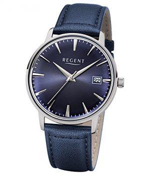 Regent Uhr | Armbanduhr Regent | Damenuhr Regent | Herrenuhr Regent | blaue Armbanduhr | dunkelblaue armbanduhr