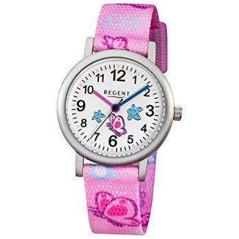 Regent Uhr | Armbanduhr Regent | Kinderuhr Regent | Armbanduhr mit Schmerrerlingmotiv