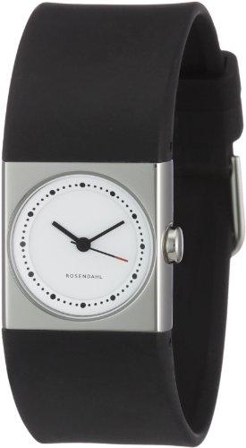 Rosendahl Uhr | Armbanduhr Rosendahl | Damenuhr Rosendahl | schwarze armbanduhr | plastik armbanduhr