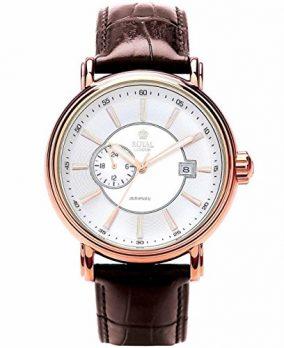 Royal London Uhr | Armbanduhr Royal London | Herrenuhr Royal London |  braune armbanduhr | automatikuhr herren | armbanduhr herren automatik