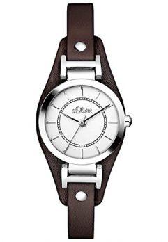 s.Oliver Uhr | Armbanduhr s.Oliver | Damenuhr s.Oliver | Armbanduhr damen mit breiterem Lederband