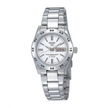 Seiko Uhr | Armbanduhr Seiko | Damenuhr Seiko | Armbanduhr edelstahl | edelstahl armbanduhr mit weißem ziffernblatt