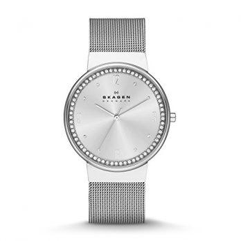 Skagen Uhr | Armbanduhr Skagen | Damenuhr Skagen | silberne armbanduhr