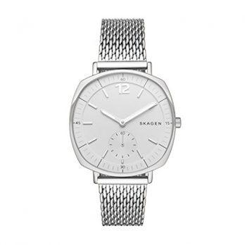 Skagen Uhr | Armbanduhr Skagen | Herrenuhr Skagen | herrenuhr mit weißem Ziffernblatt