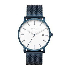 Skagen Uhr   Armbanduhr Skagen   Herrenuhr Skagen   dunkelblaues armbanduhr