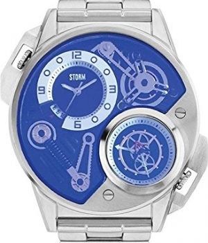 Storm London Uhr | Armbanduhr Storm London | Herrenuhr Storm London | Herrenuhr silber-blau