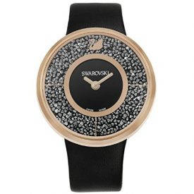 Swarovski Uhr | Armbanduhr Swarovski | Damenuhr Swarovski | schwarze damen armbanduhr