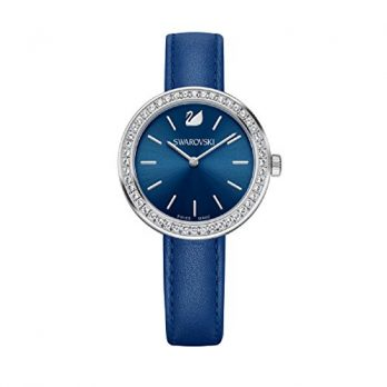 Swarovski Uhr | Armbanduhr Swarovski | Damenuhr Swarovski | blaue damen armbanduhr
