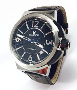 Swarovski Uhr   Armbanduhr Swarovski   Herrenuhr Swarovski   herrenarmbanduhr Leder