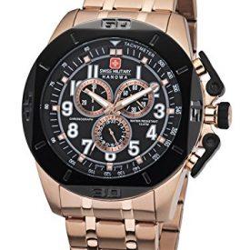 Swiss Military Hanowa Uhr | Armbanduhr Swiss Military Hanowa | Herrenuhr Swiss Military Hanowa | roségoldfarbige herrenuhr