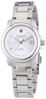 Swiss Military Hanowa Uhr | Armbanduhr Swiss Military Hanowa | Damenuhr Swiss Military Hanowa | edelstahl analoge armbanduhr damen