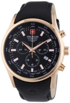 Swiss Military Hanowa Uhr | Armbanduhr Swiss Military Hanowa | Herrenuhr Swiss Military Hanowa | XL Armbanduhr | breite armbanduhr uhr herren | lederarmbanduhr schwarz herren XL