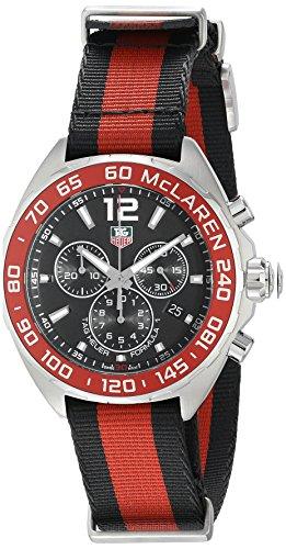 Tag Heuer Uhr | Armbanduhr Tag Heuer | rot-schwarze armbanduhr