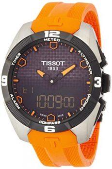 Tissot Uhr | Armbanduhr Tissot | Herrenuhr Tissot |  Orange herrenuhr