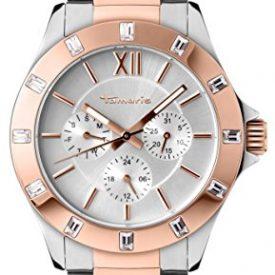 Tamaris Uhr | Armbanduhr Tamaris | Damenuhr Tamaris | edelstahl rosagoldfarbige silberne damenuhr