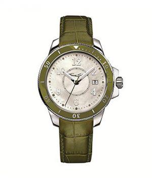 Thomas Sabo Uhr | Armbanduhr Thomas Sabo | Damenuhr Thomas Sabo | echtleder damenarmbanduhr | grüne damen armbanduhr