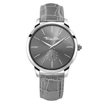 Thomas Sabo Uhr | Armbanduhr Thomas Sabo | Herrenuhr Thomas Sabo | graue herrenuhr | lederarmbanduhr grau