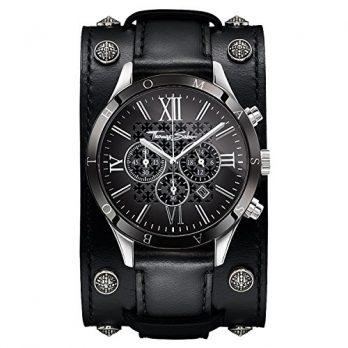 Thomas Sabo Uhr | Armbanduhr Thomas Sabo | Herrenuhr Thomas Sabo | schwarze herrenuhr | armbanduhr herren schwarz mit lederarmband