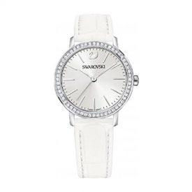 Swarovski Uhr | Armbanduhr Swarovski | Damenuhr Swarovski | weiße damen armbanduhr