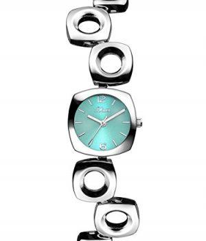 s.Oliver Uhr   Armbanduhr s.Oliver   Damenuhr s.Oliver   armbanduhr mit türkisfarbenem Zifferblatt