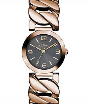 s.Oliver Uhr   Armbanduhr s.Oliver   Damenuhr s.Oliver   edelstahl roségold armbanduhr