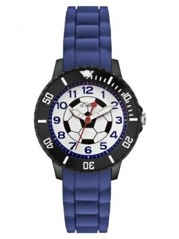 s.Oliver Uhr | Armbanduhr s.Oliver | Jungen Armbanduhr s.Oliver | blaue armbanduhr für Jungs | armbanduhr mit fussballmotiv | silikonarmbanduhr | kinderarmbanduhr