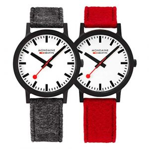 Mondaine Armbanduhr, ren von Mondaine, Armbanduhr Mondaine