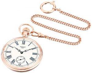 Tachenuhr,Sackuhr, Uhr für die Tasche, Taschenuhr mit Kette