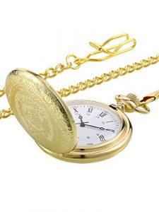 Uhr mit Kette für die Tasche, Taschenuhr, Uhr mit Kette